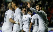ريال مدريد يستعيد نغمة الانتصارات بثلاثية في مرمى ليفانتي