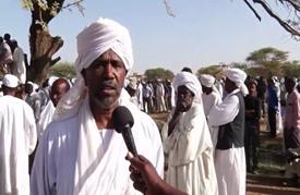 تشييع الزعيم الإسلامي المعارض حسن الترابي في الخرطوم