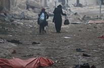 """وعد الخطيب تروي مشاهد """"الرعب"""" في حلب (شاهد)"""
