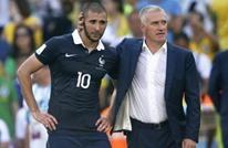 ديشامب يفتح الباب أمام بنزيمة للعودة لمنتخب فرنسا