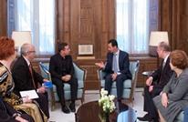 ماذا قال الأسد لوفد برلماني أوروبي التقاه الأحد؟