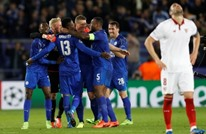 ليستر يقصي إشبيلية ويتأهل لربع نهائي أبطال أوروبا (فيديو)