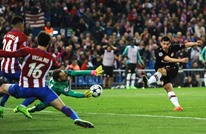 """ثلاثة تصديات """"خرافية"""" لحارس أتلتيكو مدريد بأربع ثوان (شاهد)"""