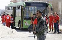 خروج الدفعة الأولى من مسلحي الوعر بموجب الاتفاق مع النظام