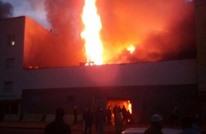 مقتل إطفائي وجرح آخرين في حريق بمستودع للخشب بالمغرب (شاهد)