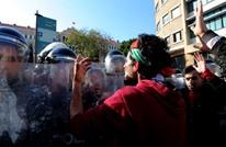 لماذا طالب رئيس لبنان السابق بطرد أحد المتظاهرين أمس؟