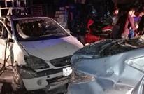 عشرات القتلى والجرحى بانفجار سيارة مفخخة ببغداد (شاهد)