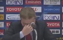 """مدرب سوريا """"يبكي"""" رغم الفوز على أوزبكستان.. لماذا؟ (فيديو)"""