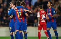 برشلونة يتصدر الدوري الإسباني بعد تعثر ريال مدريد (فيديو)