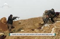 الثوار يتصدون لمحاولة تقدم النظام بريف حلب الغربي (شاهد)