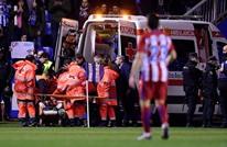 أتليتيكو يطمئن الجماهير على توريس بعد إصابة في الرأس