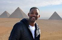 ويل سميث في حضرة أبو الهول.. ماذا قال عن زيارته (صور)