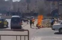 "مواطن مصري يشعل النار بنفسه: ""مش قادر أأكل ولادي"""