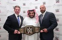 """مصارعة """"WWE"""" في السعودية برعاية رسمية وغضب في """"تويتر"""""""