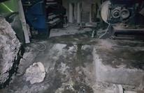 إحراق ثاني مؤسسة صحفية في عدن خلال 24 ساعة (صور)