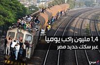 ماذا تمثل سكك حديد مصر للمصريين؟ (إنفوغرافيك)
