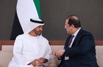 """محمد بن زايد يستقبل رئيس """"المخابرات المصرية"""" (صور)"""