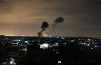 الاحتلال الإسرائيلي يقصف أهدافا للمقاومة بقطاع غزة