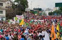 مظاهرة حاشدة في كاراكاس تأييدا لمادورو