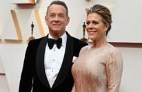 """توم هانكس وزوجته أحدث المنضمين لقائمة مصابي """"كورونا"""""""