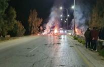 ذوو مفقود في الأردن يحتجون بإغلاق طريق رئيسي (صور)