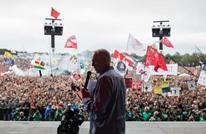 """كوربين الابن يتضامن مع الفلسطينيين: """"حريتكم حريتنا"""""""