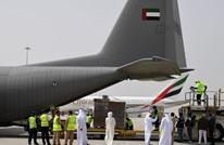 طائرة مساعدات تصل طهران قادمة من دبي.. لمواجهة كورونا
