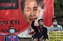 """عقد أولى جلسات محاكمة """"سو تشي"""" وقتلى التظاهرات بارتفاع"""
