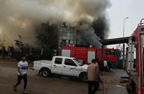 20 قتيلا في حريق مصنع بمدينة العبور المصرية (صور)
