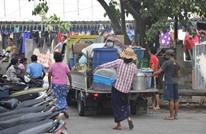 دموية جيش ميانمار ضد المتظاهرين تدفع لموجات نزوح ولجوء