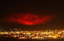 بركان كبير في إيسلندا بعد وقوع آلاف الزلازل الصغيرة (شاهد)