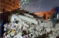 عقب ساعات من فاجعة القطار.. قتلى بانهيار مبنى في القاهرة