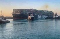 شاهد لحظة تعويم السفينة الجانحة وإبحارها (فيديو)