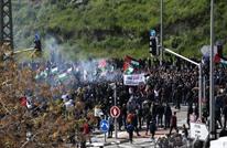 عشرات آلاف الفلسطينيين يحتجون ضد عنف شرطة الاحتلال وتقاعسها