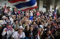 مقتل تايلاندي بإطلاق نار على مسيرة مناهضة للحكومة