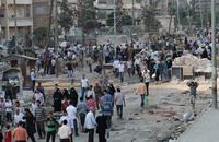 حواجز الموت في مدينة حلب تمنع اللقاء بين الأحبة