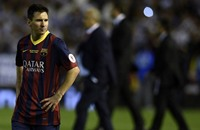 """تخريب تمثال ميسي بالأرجنتين بعد خسارته لقب """"أفضل لاعب"""" (صور)"""
