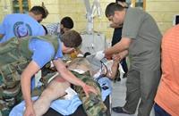 رغم الإمدادات.. ريف حمص يعاني نقصا كبيرا بالمواد الطبية
