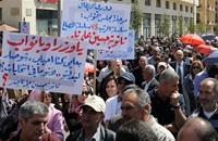مسيرات وإضرابات في بيروت للمطالبة بزيادة الأجور