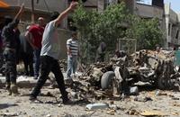 مقتل 8 بينهم ضابط شرطة في تفجيرات ببغداد