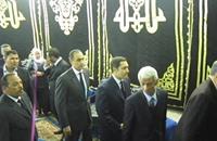 نجلا مبارك يغيظان المصريين في عزاء والدة مصطفى بكري