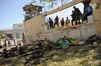 انفجار سيارة مفخخة عند نقطة تفتيش بمقديشو الصومالية