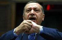 أردوغان يردد أبيات الشعر التي اعتقل بسببها قبل 18 سنة