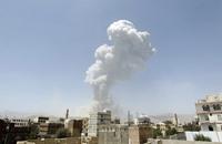 التحالف يقصف منزل نجل علي عبد الله صالح في صنعاء