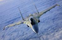 """طائرة """"سو35"""" الروسية تصل لأول مرة إلى إسطنبول (صورة)"""