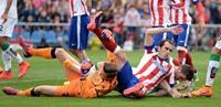 أتليتكو  مدريد يجتاز إلتش بثلاثية