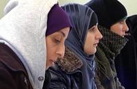 مظاهرة في فيينا ضد دعوة حظر الحجاب في الإدارات الرسمية