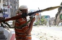 قتلى في معارك بين المقاومة الشعبية والحوثيين في تعز اليمنية