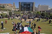 الفلسطينيون في بيروت ينظمون وقفة بمناسبة عيد العمال