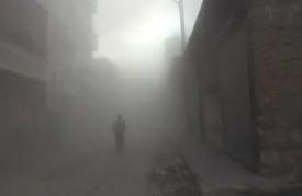 قوات النظام السوري تقصف مناطق مجاورة لحلب بالبراميل المتفجرة